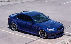 BMW M5. I'd be even happier if I could drive one of these. The Porsche is less doable though...