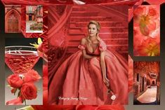 """lovely colour - from """"Collage my Passion"""" facebook  -  Ax"""