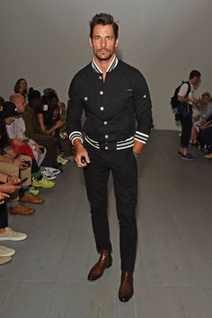 / David Gandy attends the Christopher Raeburn show during London Fashion Week Men's June 2018 at the BFC Show Space on June 10 2018 in London England Gentleman Mode, Gentleman Style, London Fashion Week Mens, Mens Fashion, Fashion 2018, Fashion Fall, Fashion Sites, David Gandy Style, David Gandy Suit