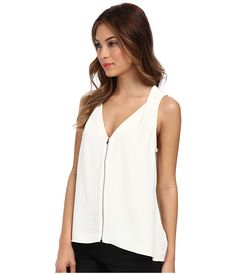 Trina Turk Banning Top Ivory - Zappos.com Free Shipping BOTH Ways