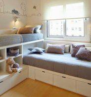 Une chambre, deux enfants ou plus : quels aménagements ...
