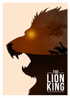 Awesome Minimalist Disney Posters FTW