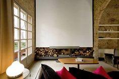 Riva Lofts, Florence, Italie by Claudio Nardi architects / fireplace