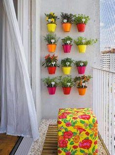 Küçük Balkon Dekorasyonu Nasıl Olmalı?