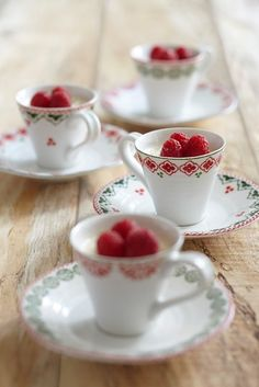 """""""I was brought up thinking about object form, and optimising that comes naturally to me. When I design I am also inspired by how, when you use something, it affects all the senses."""" - Sophie Conran Christmas espresso cup & saucer"""