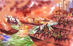 Hello World Civ (Cao Cao's Ships Burning) Ancient Fools: 5 Blundering Ancient World Commanders
