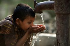 Clean water is a human right.