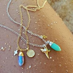 Micro Spike adjustable Necklace (Multiple options) by Long Lost Jewelry