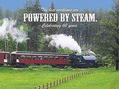 The best vacations are powered by steam.
