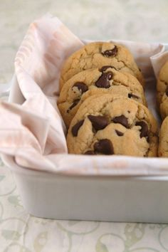 Gluten Free and Dairy Free cookies! Yum! Still soft and chewy after just three days says the author.