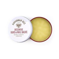 """Savannah Bee Company - Hand and Nail Salve Open """"Love this stuff! Makes your nails grow so fast and your hands super soft, it also is all natural and lasts forever! Savannah Bee Company, Savannah Chat, Beauty Secrets, Diy Beauty, Beauty Products, Beauty Tips, Beauty Hacks, Beauty Makeup, Bobbi Brown Cleansing Oil"""