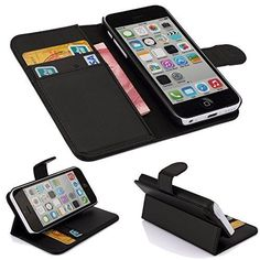 DN-Technology iPhone 5C Black Book Case, Case Cover for Apple iPhone 5C DN-TECHNOLOGY® http://www.amazon.co.uk/dp/B00ZTC9MJO/ref=cm_sw_r_pi_dp_absJwb023QKP8