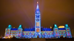 Ottawa, Canada Northern Lights: The Sound and Light Show on Parliament Hill July 9 to September 2016 Best Christmas Lights, Christmas Fun, Holiday, Ottawa Parliament, Ottawa Tourism, Affordable Family Vacations, Laser Show, Visit Canada, Canada Travel