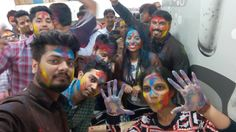 Holi Celebrations at Holi Celebration, Celebrations, Carnival, Face, Painting, Painting Art, Holi, Paintings, Faces