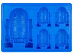 Star Wars Ice Cube Tray for R2-D2 @Alisha Dunlop