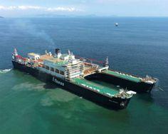 """""""Pieter Schelte"""", el mayor buque multitarea del mundo"""