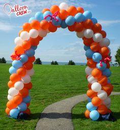 Cómo hacer Arcos con Globos - Decoración con Globos | Decoraciones Para Fiestas