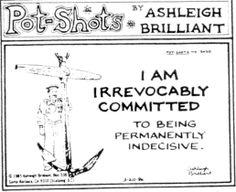 Ashleigh Brilliant -- Sample Potshots 3