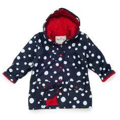 Hatley Girls 2-6x Snow Balls Rain Coat for only $11.85