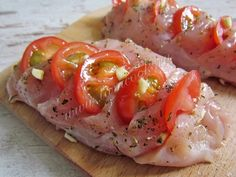 Yum Yum Chicken, Poultry, Sushi, Food And Drink, Cooking Recipes, Yummy Food, Diet, Meals, Healthy