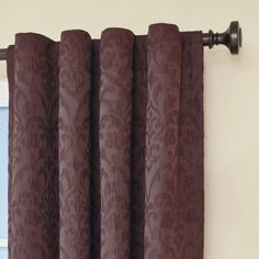"95"" Purple Eclipse™ Thermaback Thermal Blackout Curtains"