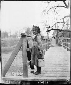 Cherokee girl near Tahlequah, Oklahoma - 1899