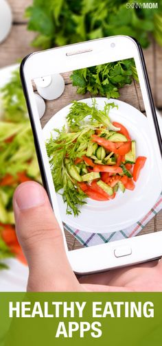 Healthy eating apps you need to add to your smartphone. Healthy Eating Apps, Health Eating, Get Healthy, Healthy Tips, Healthy Snacks, Healthy Recipes, Nutrition, Mindful Eating, How To Eat Paleo