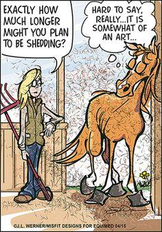 shedding is an art