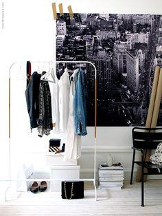 画像 : IKEAのハンガーラックMULIGが安くてオシャレ - NAVER まとめ 出典 livethemma.ikea.se