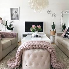 I just love this loungeroom - the colours and textures art it ticks all the boxes - I sooo want. @homeby_veronica .. ... .... ..... ...... ....... ........ ......... .......... ........... ............ ............. .............. ............... #style #loungerooms #homeinspo #stylemyroom #scandi #inspire #relax #candles #texture #homeinspo #stylish #scandinavianstyle #homeinspo #simple