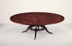 25003 // Decca // Traditional Collection // Traditional Hand Carved Round Dining Table