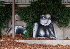 Une parfaite interaction du Street-Art et de la nature – WikiLinks