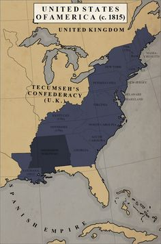 Fantasy Map Generator, Imaginary Maps, War Of 1812, Alternate History, Fictional World, Still Image, New Jersey, Flags, Bielefeld
