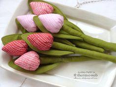 Easy-Sew Fabric Tulip Flowers with Stitchn'Sew Fleece - Therm O Web
