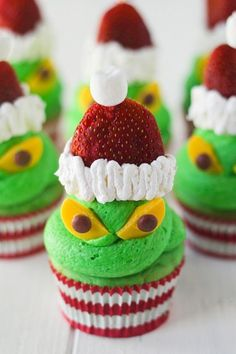 Grinch Cupcakes Photo