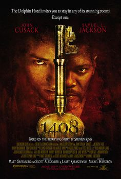 """1408"" movie poster"