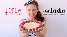 Tarte de Gelado (Torta de Sorvete) Cooking Videos, Ice Cream, Cream Cake, Sweet Recipes, Tiramisu, Pie, Sweets, Ethnic Recipes, Sweetest Thing