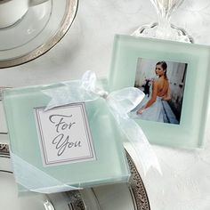 Glass Photo Coasters by Beau-coup