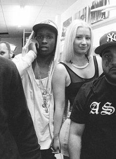 A$AP Rocky  Iggy Azalea ❤ there perfect!! xx
