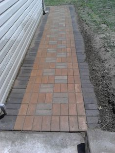 This is an incredible concept if you would like Brick Pathway, Snow And Ice, Outdoor Projects, Pathways, Concrete, Sidewalk, Surface, The Incredibles, Landscape