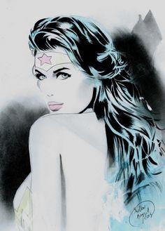 Wonder Woman by Shelton Bryant