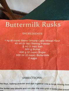Buttermilk Rusks, Baking, Patisserie, Bakken, Bread, Backen, Sweets