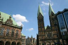 Rathaus Bremen und Dom zu Bremen