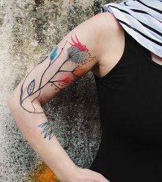 Bumpkin Tattoo flores