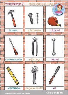 Preschool Jobs, Learn Dutch, Dutch Language, School Items, Vocabulary Activities, Dramatic Play, Activity Days, Home Schooling, Teaching Tools