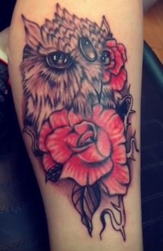 Owl tattoo by craze