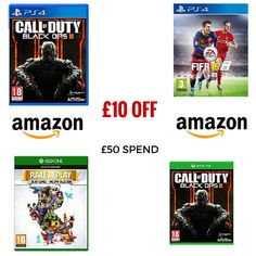 TODAY ONLY Spend £50 or more and get £10 off @ Amazon items sold and dispatched by Amazon only