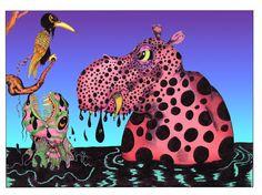 HippoSpotamus by Joseph Shivery -- freebie download image to celebrate 550+ members in his Facebook group