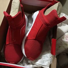 Puma - Kylie Jenner Version Never worn. Puma Shoes Sneakers
