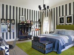 Wanddekoration sorgt für Abwechslung im Jugendzimmer